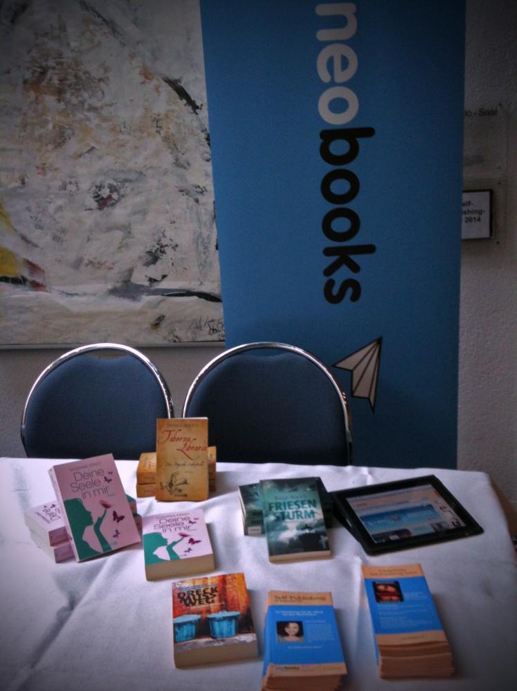 neobooks Tisch am SP-Day