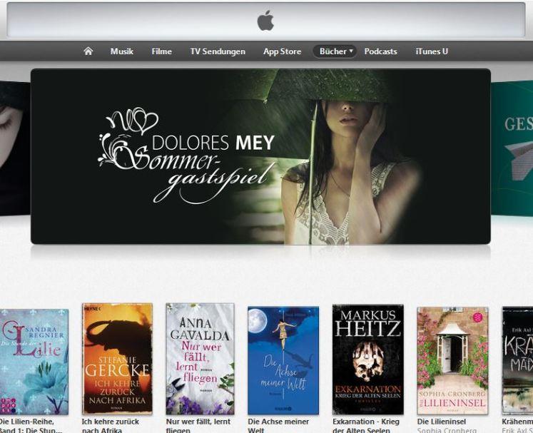 """""""Sommergastspiel"""" von Dolores Mey im Apple iBookstore"""