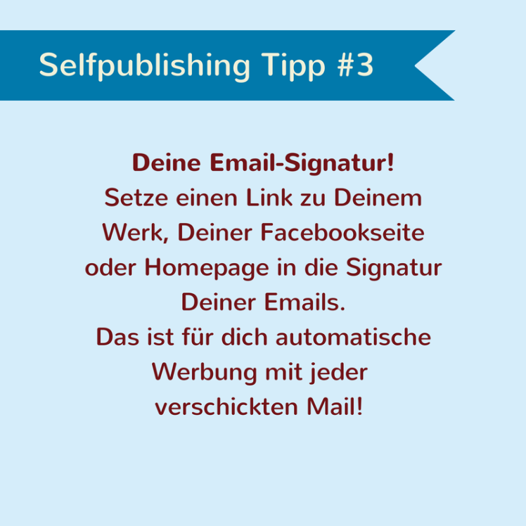 Selfpublishing Tipp