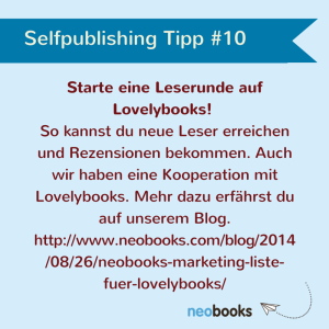 Selfpublishing Tipp10