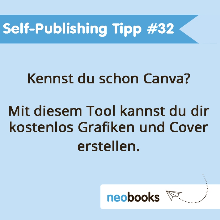 Self-Publishing Tipp