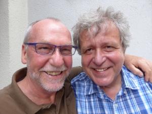 Ulrich Hutten und Robert Morgenroth