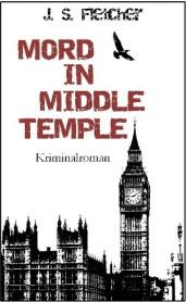 Krimi Buchcover Mord in Middle Temple von JS Fletcher