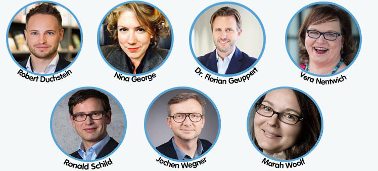 Jury des Deutschen Self-Publishing Preises 2018
